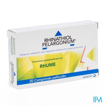 Rhinathiol Pelargonium 20 comprimés
