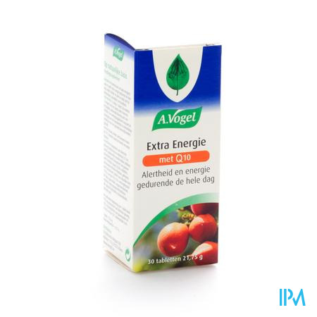 A.Vogel Extra Energie 30 tabletten