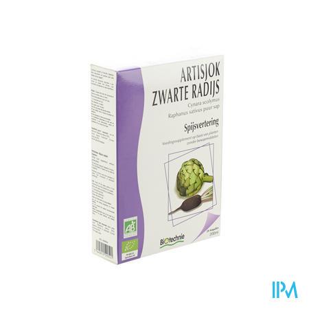 Biotechnie Artisjok-Zwarte Radijs Bio 20 x 10 ml ampoules