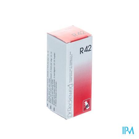 Reckeweg Dr. R42 Druppels 50 ml  -  Nut-Hom-Phyt
