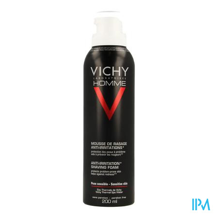 Vichy Homme Scheerschuim Anti Irrit. 200ml