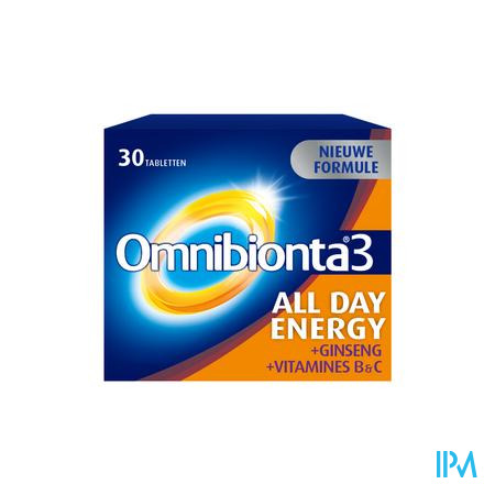 OMNIBIONTA-3 ALL DAY ENERGY NF            COMP  30 (complément alimentaire)