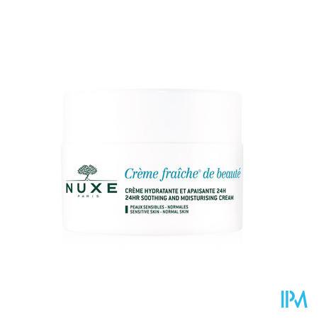 Nuxe Crème Fraîche De Béaute Enrichie Peau Sèche 50 ml