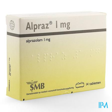 Alpraz Comp 14x1,0mg