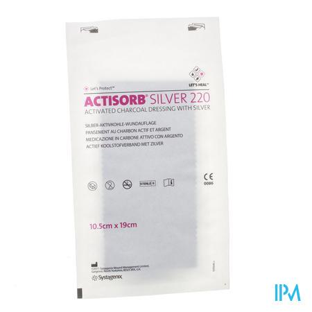 Actisorb Silver 220 Kp 19,0x10,5cm 1 Mas190de