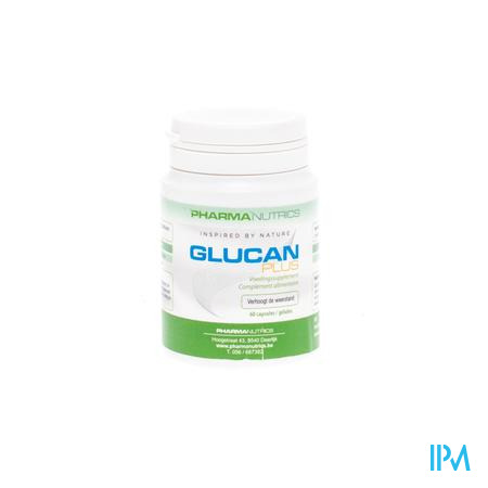 Glucan Plus Caps 60 Pharmanutrics