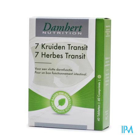 Damhert 7-kruiden Transit 45 tabletten