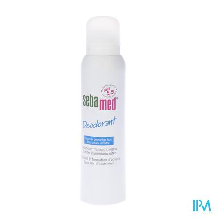 Sebamed Deodorant Spray Gevoelige Huid 150 ml