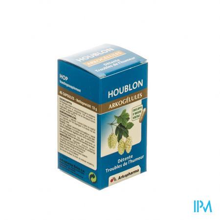 Arkogélules Houblon Végetales 45 capsules