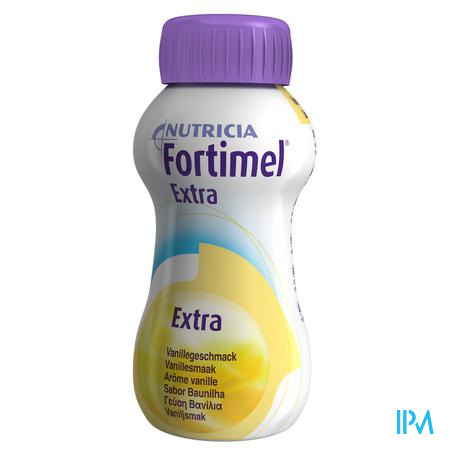 Fortimel Extra Vanille Nf 4x200ml Rempl.2401511