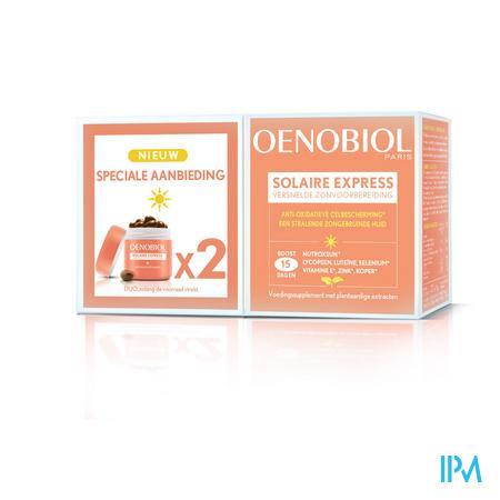 Oenobiol Solaire Express Caps 2x15 Promo