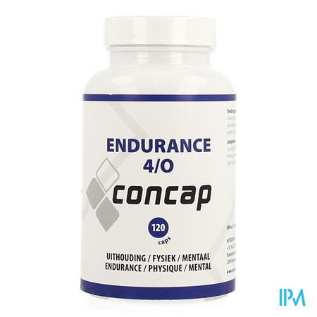 Concap Endurance 4 O Caps 120