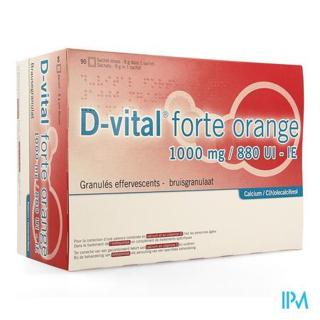 D Vital Forte Orange 1000/880 Sachets 90
