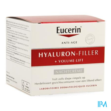 Eucerin Hyaluron Filler+volume Lift Nacht Cr 50ml