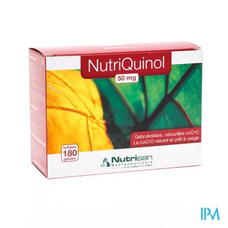 Nutrisan Nutriquinol 50 mg NF 180 capsules