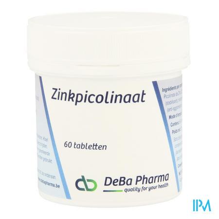Zn Picolinat Comp 60x225mg Deba