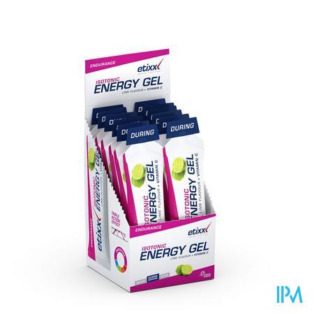 Afbeelding Etixx Isotonic Energy Gel met Limoensmaak 12 x 40 g.
