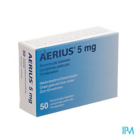 Aerius 5mg Pi Pharma Filmomh Tabl 50 X 5mg