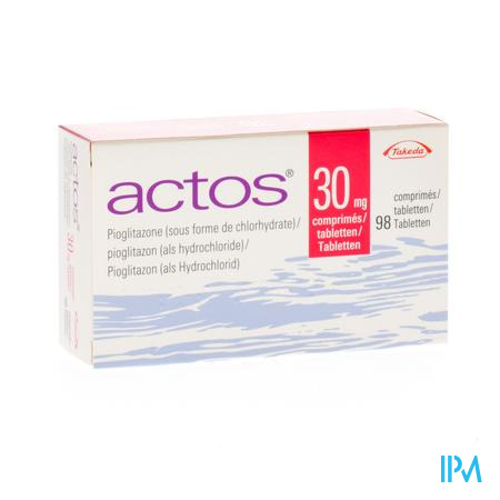 Actos 30 mg Tabletten 98 X 30 mg