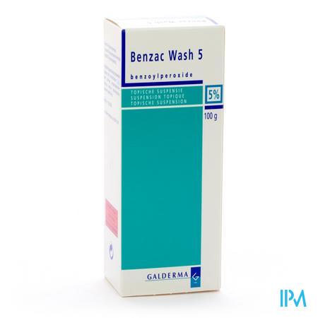 Benzac Wash Susp 5 % 100g