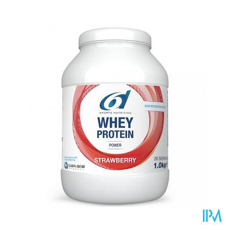 6d Sixd Whey Protein Strawberry 1kg
