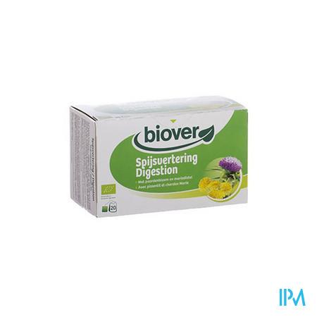Biover Biokruideninfusie Spijsvertering 20 zakjes