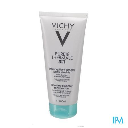 VICHY PT REINIGING INTEGRAAL 3IN1 200ML