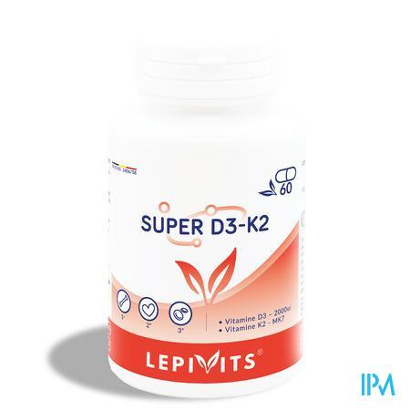 Lepivits Super D3-k2 Caps 60