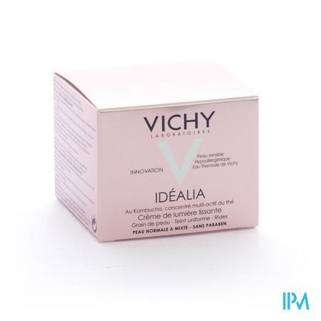 Vichy Idealia Crème De Lumière lissante Peaux Normales à Mixtes 50 ml