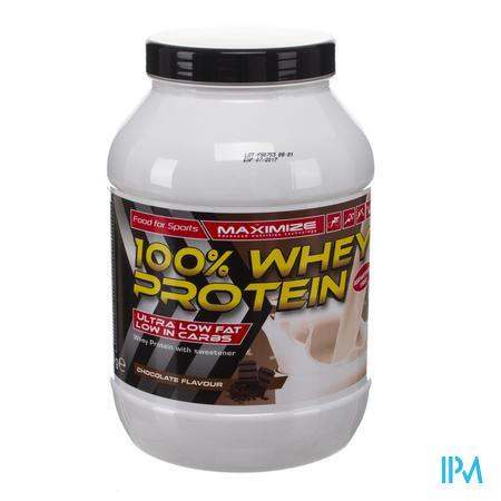 Maximize Whey Protein 100% Chocolade 750 g