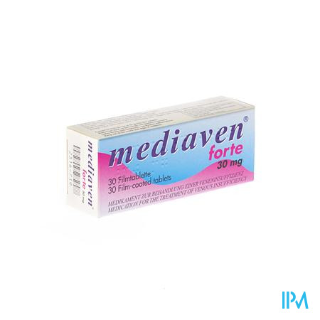 Mediaven Forte Comprimes 30 X 30 mg  -  Will Pharma