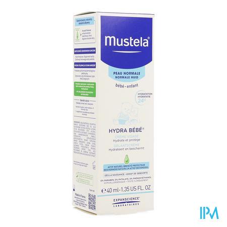 Mustela Bb Hydra Gelaatscreme Nf Tube 40ml