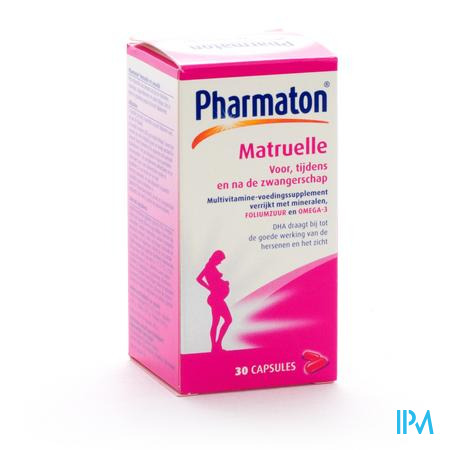 Farmawebshop - PHARMATON MATRUELLE CAPS 30