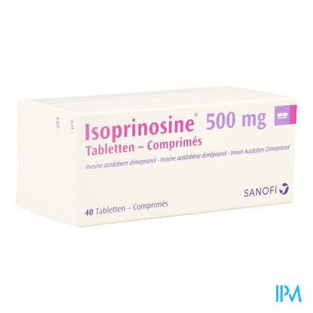 Isoprinosine Comp 40 X 500mg