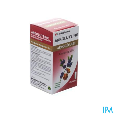 Arkocaps Arkoluteine 45