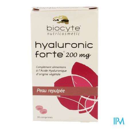 Biocyte Hyaluronic Forte 200mg 30 comprimés