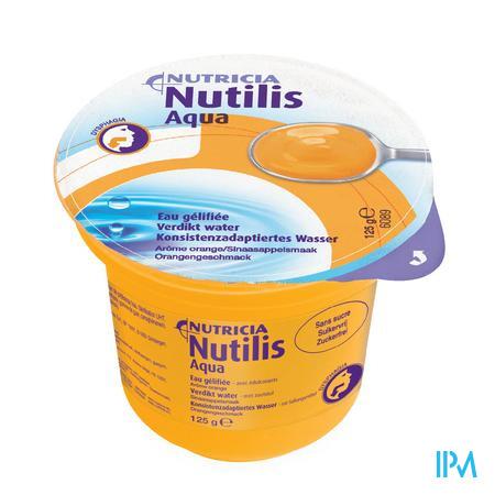 Nutilis Verdikt Water Sinaas Cups 12x125 gr  -  Nutricia