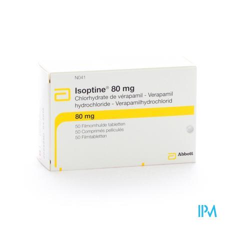 Isoptine Drag 50 X 80mg