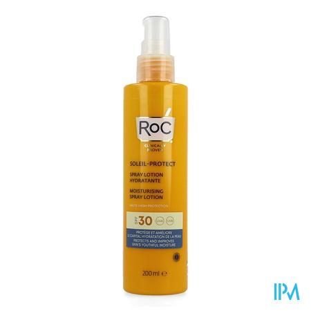 Roc Sol Protect Moistur.spray Lotion Ip30 Fl 200ml