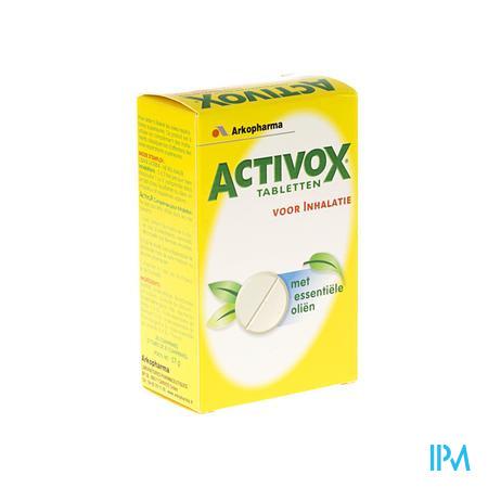 Activox Inhalatie Tube 2x10 tabletten