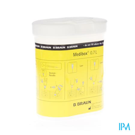 Medibox Collector Klein Naalden 0,7L 1 stuk