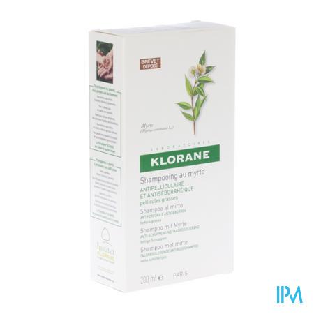 Klorane Shampoo Myrte 200 ml