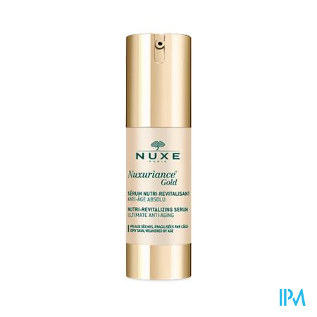 Nuxe Nuxuriance Gold Serum Nutri Revitalis. 30ml