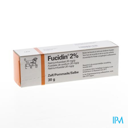 Fucidin Zalf Pommade 2 % 30 gr