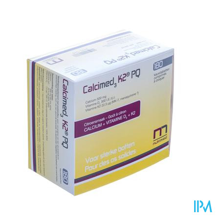 Calcimed K2 Pq Blister Kauwtabl 180