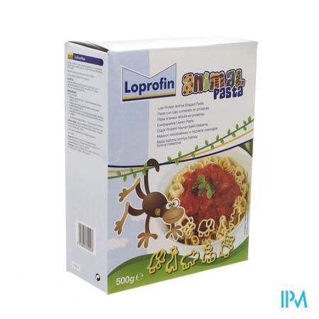 Nutricia Loprofin Low Protein Animal Pasta