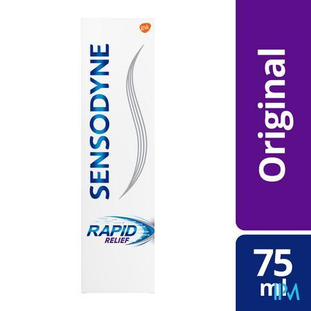 Sensodyne Rapid Relief Dentifrice 75 ml