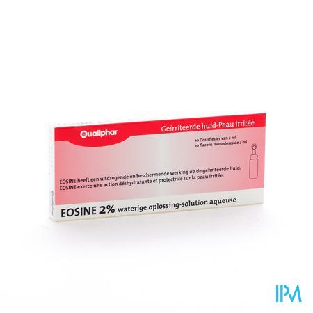 Eosine 2% Qualiphar Monodosissen Amp 10x2ml