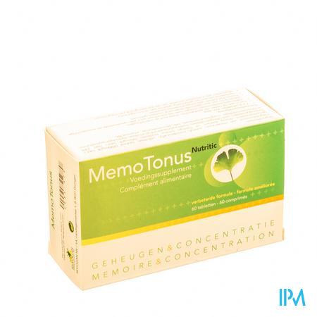 Farmawebshop - MEMOTONUS 60 tabl