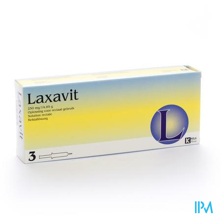 Laxavit Micro Enema Inj 3x12 ml